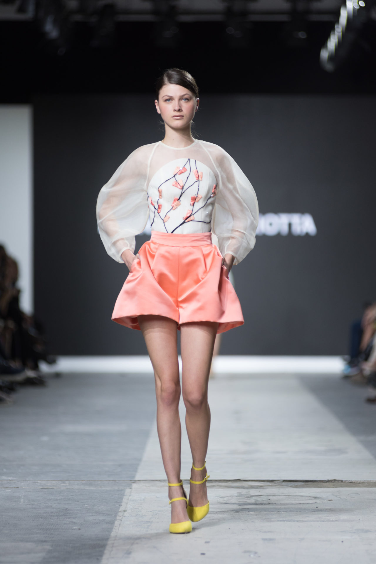 Fashion Designer: Francesca Paciotta - Fashion Graduate Italia Fashion Show - Accademia Costume & Moda