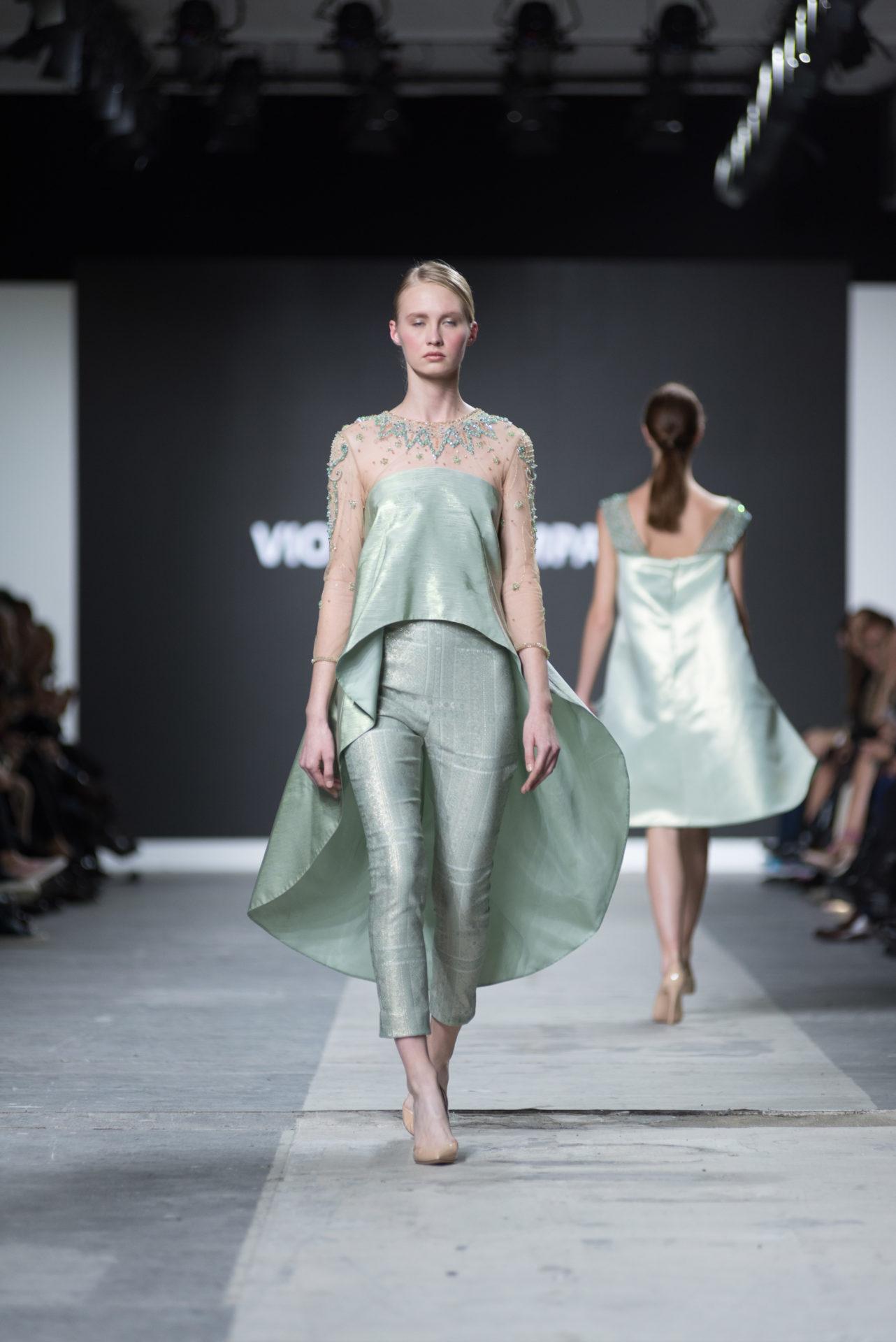 Fashion Designer: Violeta Campana - Fashion Graduate Italia Fashion Show - Accademia Costume & Moda
