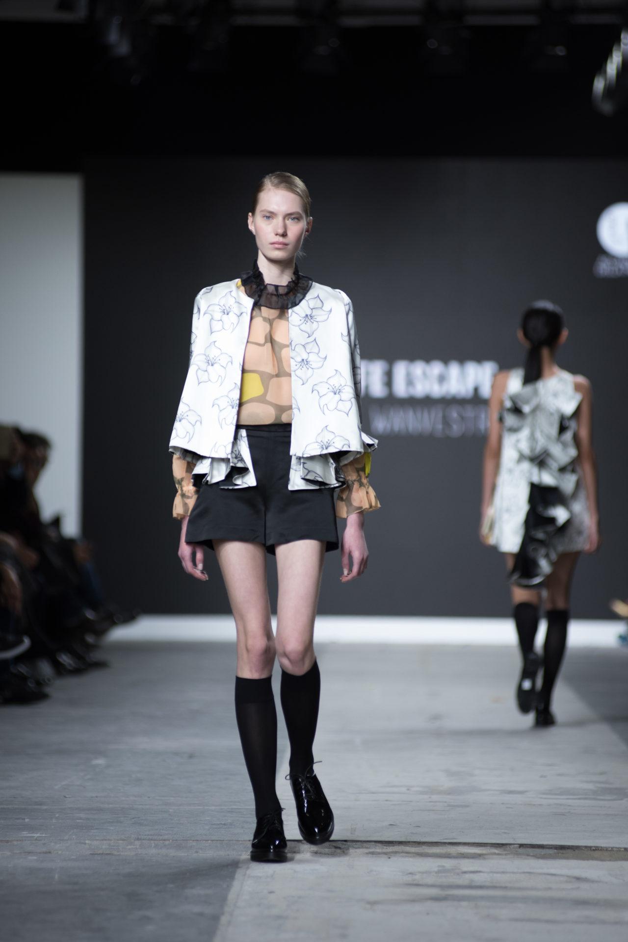 Fashion Designer: Natasha Wanvestraut - Fashion Graduate Italia Fashion Show - Accademia Della Moda