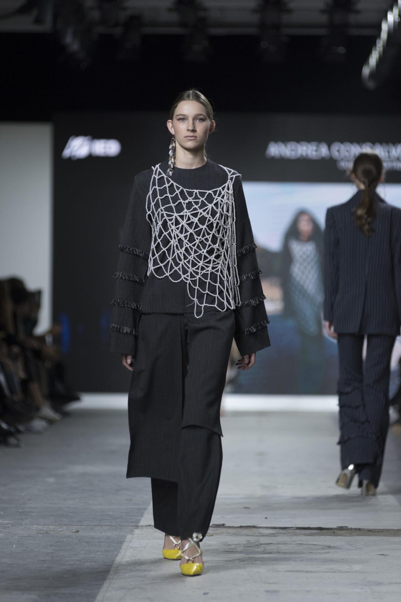 Fashion Designer: Andrea Consalvo -Fashion Graduate Italia Fashion Show - IED Milano