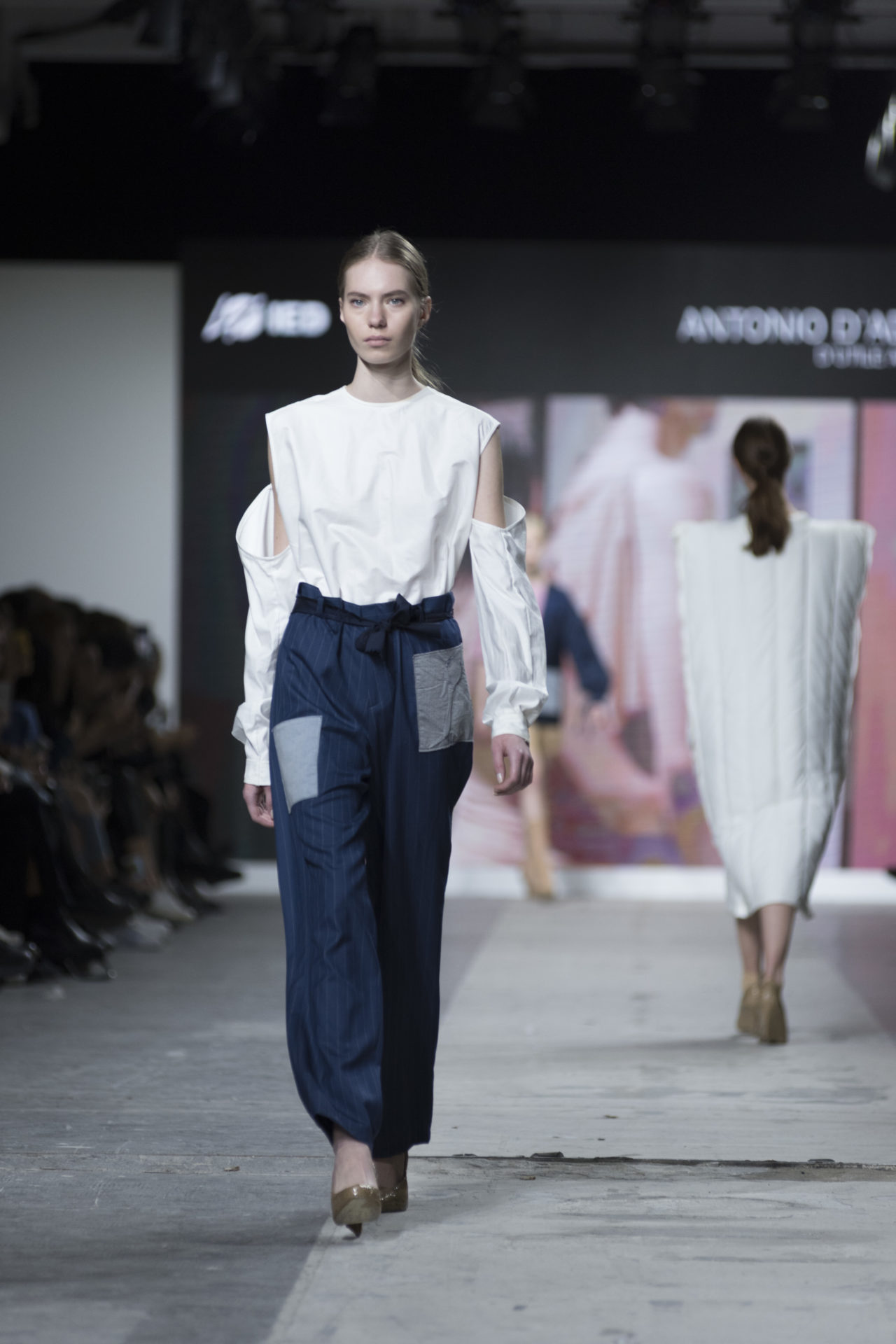 Fashion Designer: Antonio D'Addio - Fashion Graduate Italia Fashion Show - IED Milano