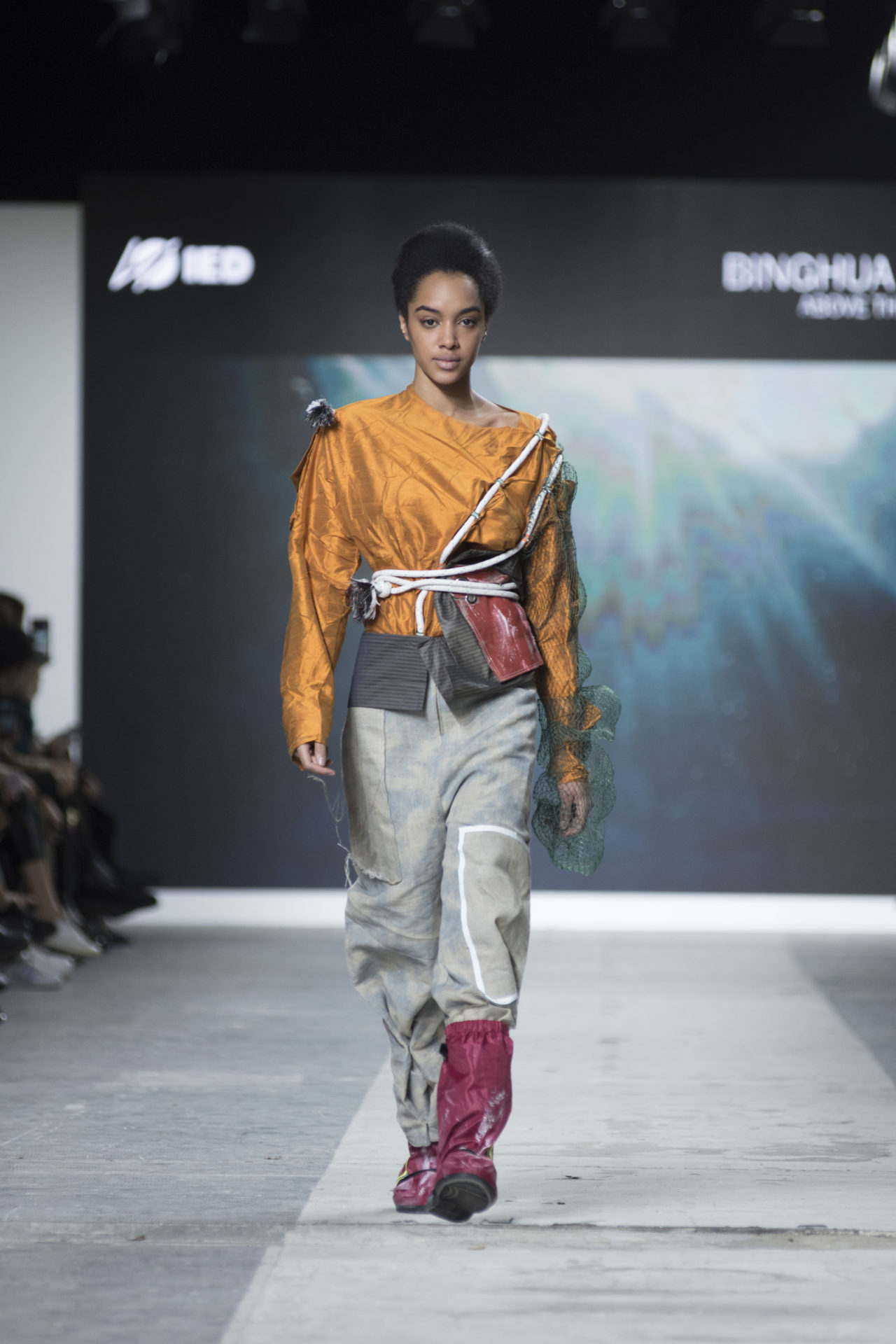 Fashion Designer: Binghua Mao - Fashion Graduate Italia Fashion Show - IED Milano