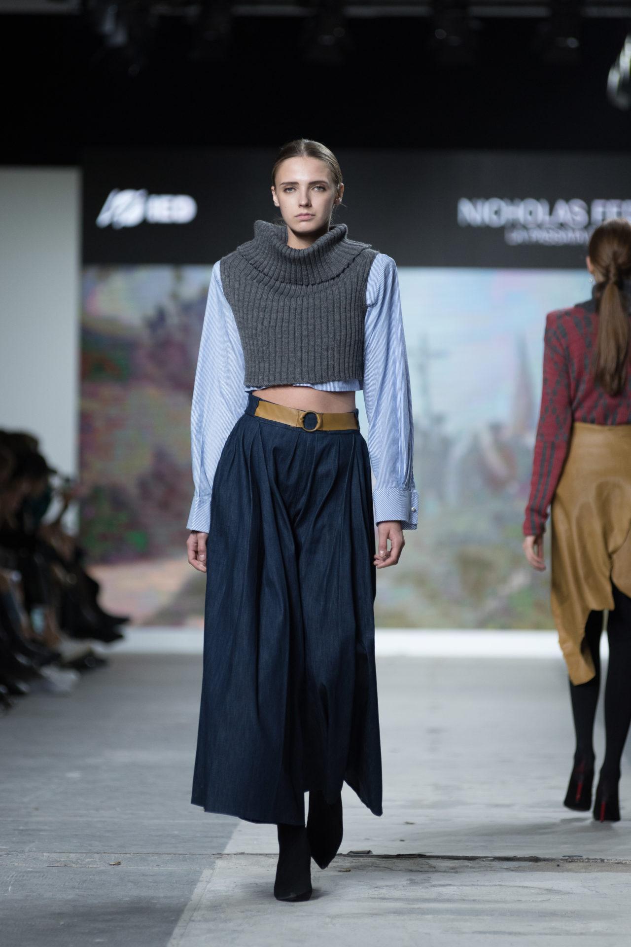 Fashion Designer: Nicholas Fedele - Fashion Graduate Italia Fashion Show - IED Milano