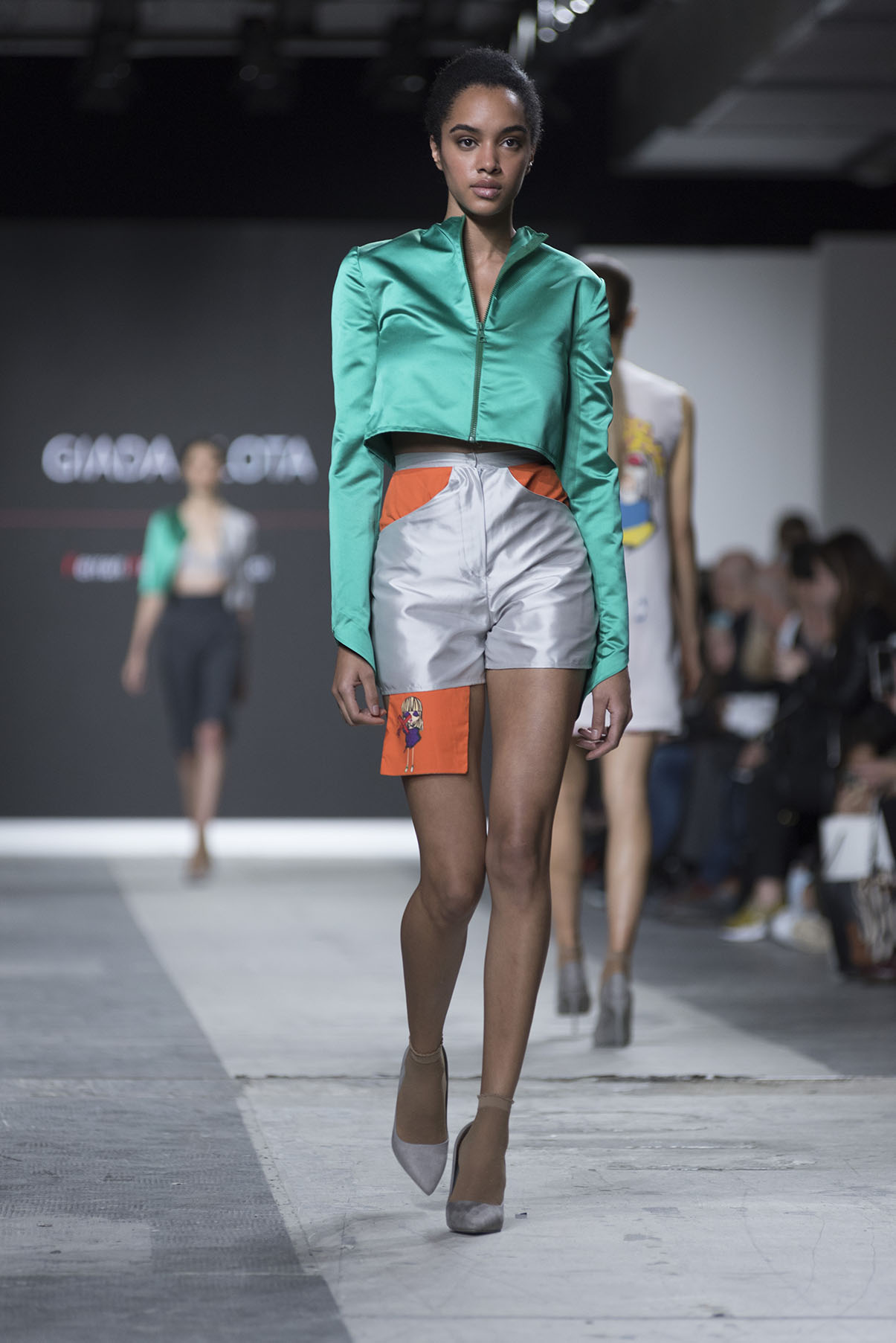 Fashion Designer: Giada Alota - Fashion Graduate Italia Fashion Show - Ferrari Fashion School