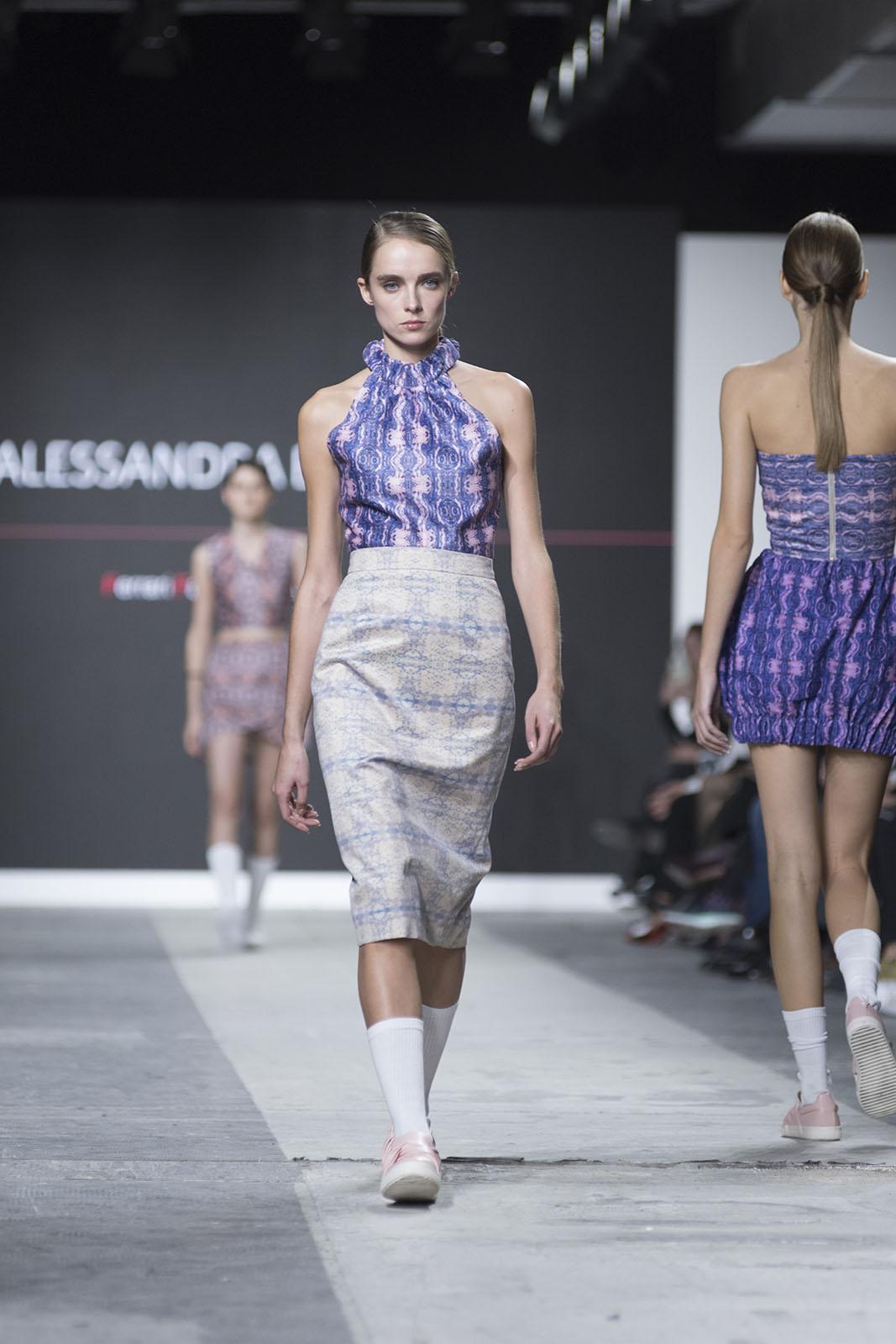Fashion Designer: Alessandra Besoni- Fashion Graduate Italia Fashion Show - Ferrari Fashion School