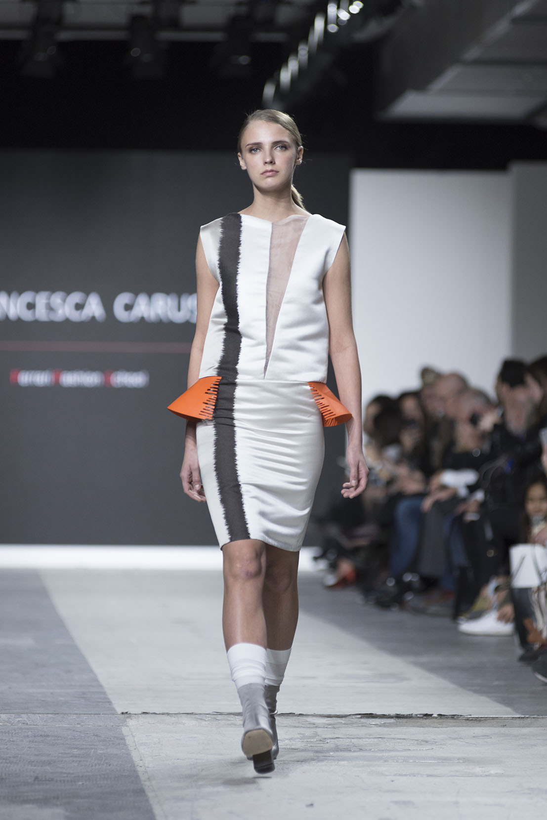 Fashion Designer: Francesca Caruso - Fashion Graduate Italia Fashion Show - Ferrari Fashion School