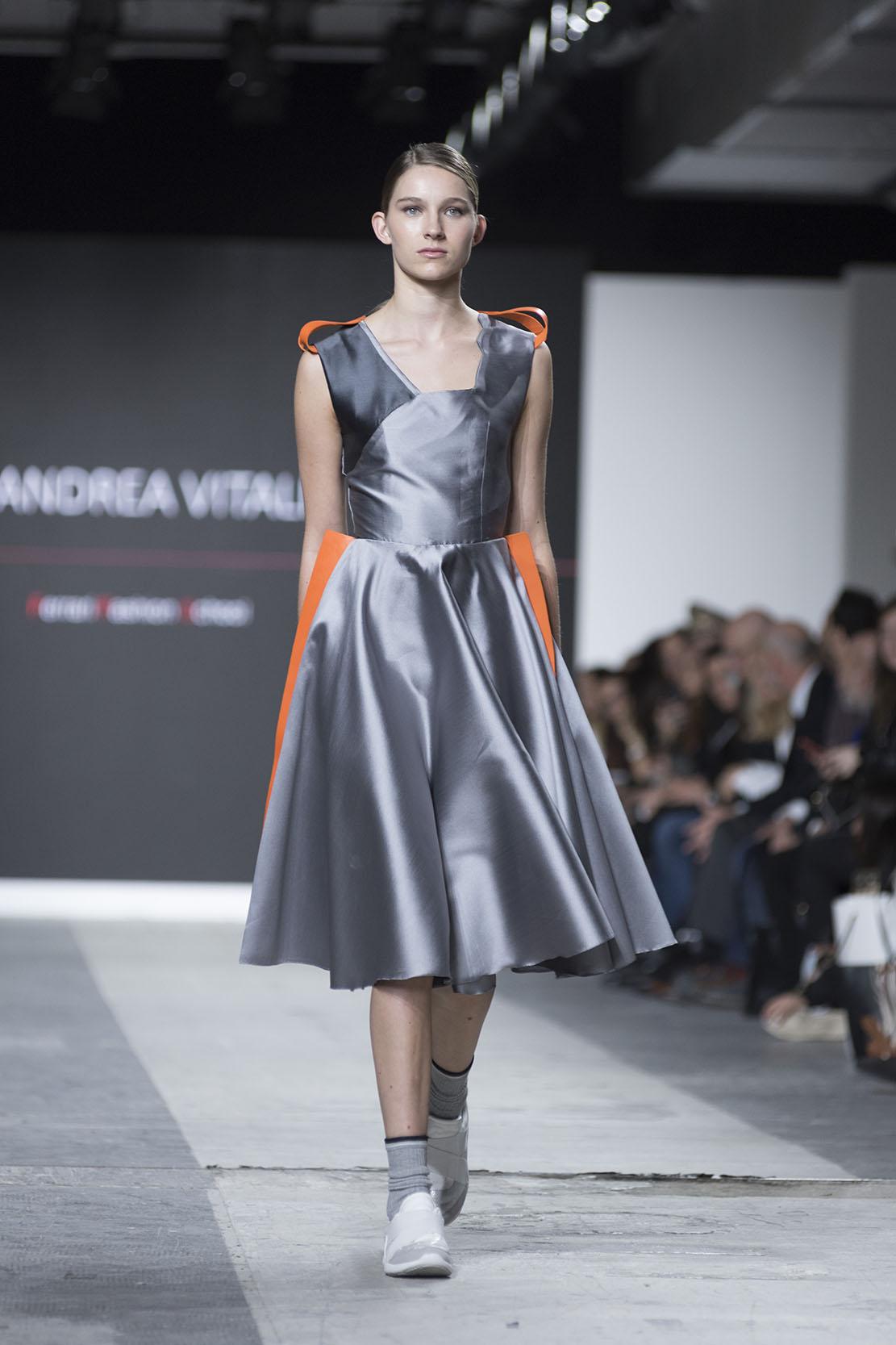 Fashion Designer: Andrea Vitali - Fashion Graduate Italia Fashion Show - Ferrari Fashion School