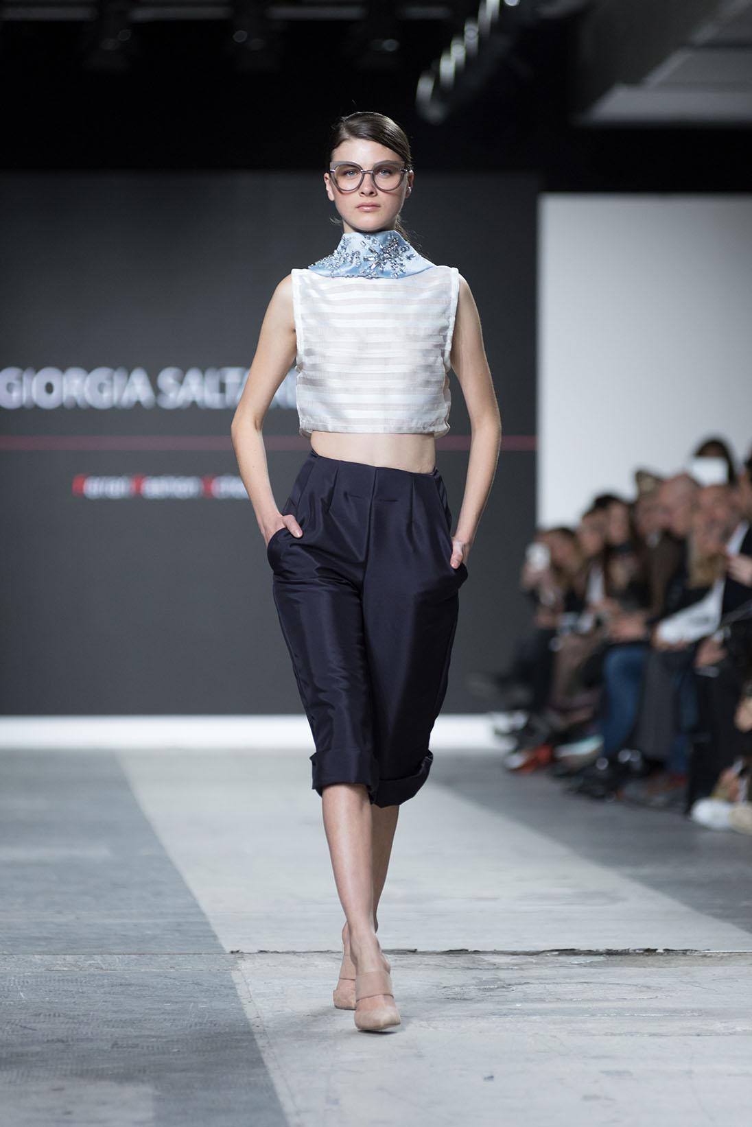 Fashion Designer: Giorgia Saltarelli - Fashion Graduate Italia Fashion Show - Ferrari Fashion School