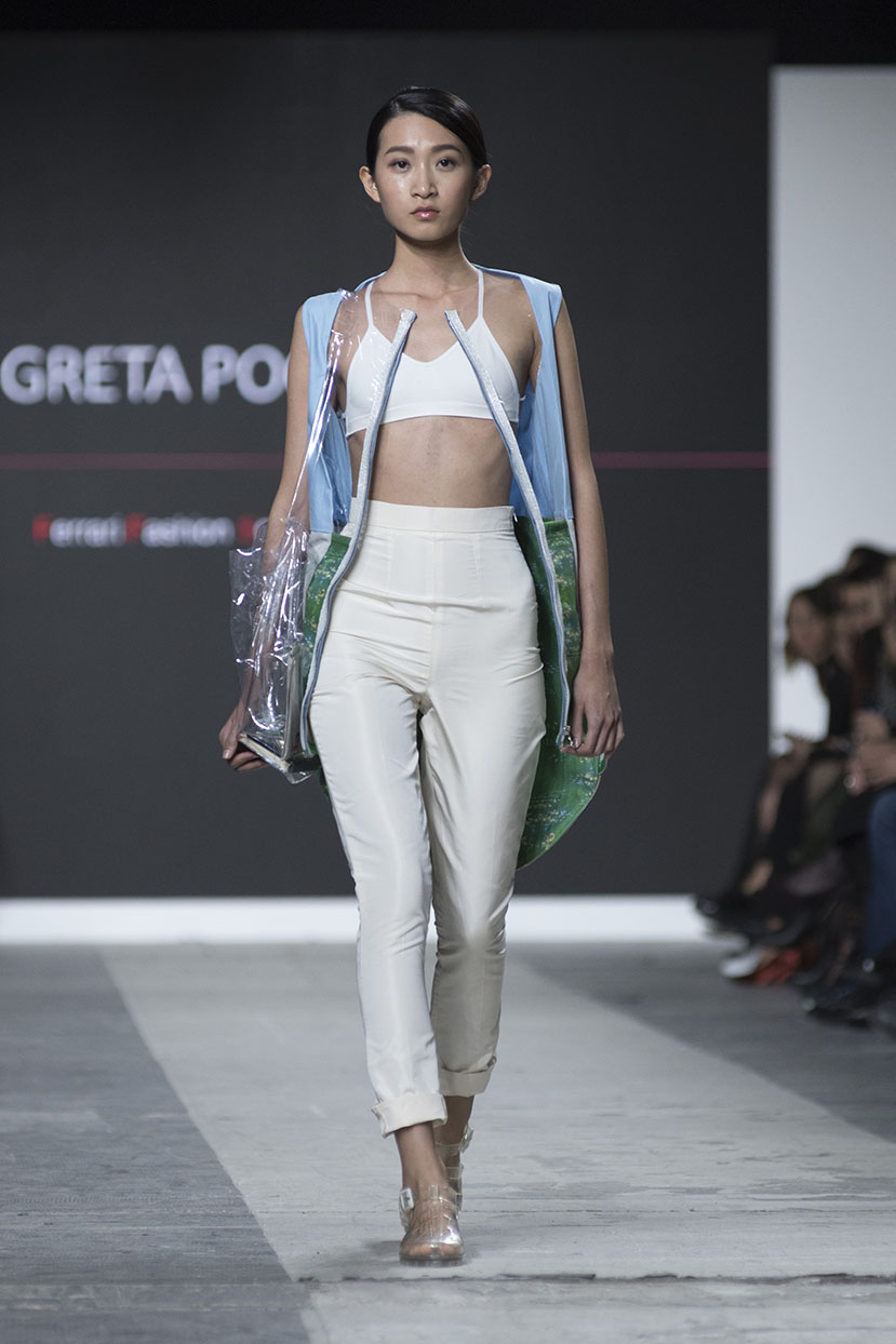 Fashion Designer: Greta Poggi - Fashion Graduate Italia Fashion Show - Ferrari Fashion School