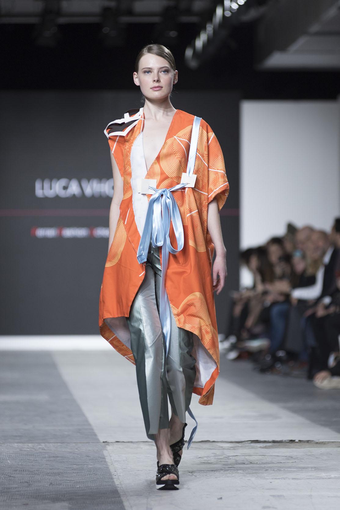 Fashion Designer: Luca Vho - Fashion Graduate Italia Fashion Show - Ferrari Fashion School